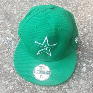 Houston Astros 59Fifty Fitted Green Ball Cap 7 1/4